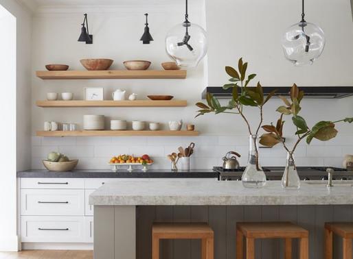 Plan de maison moderne, cuisine au design moderne!