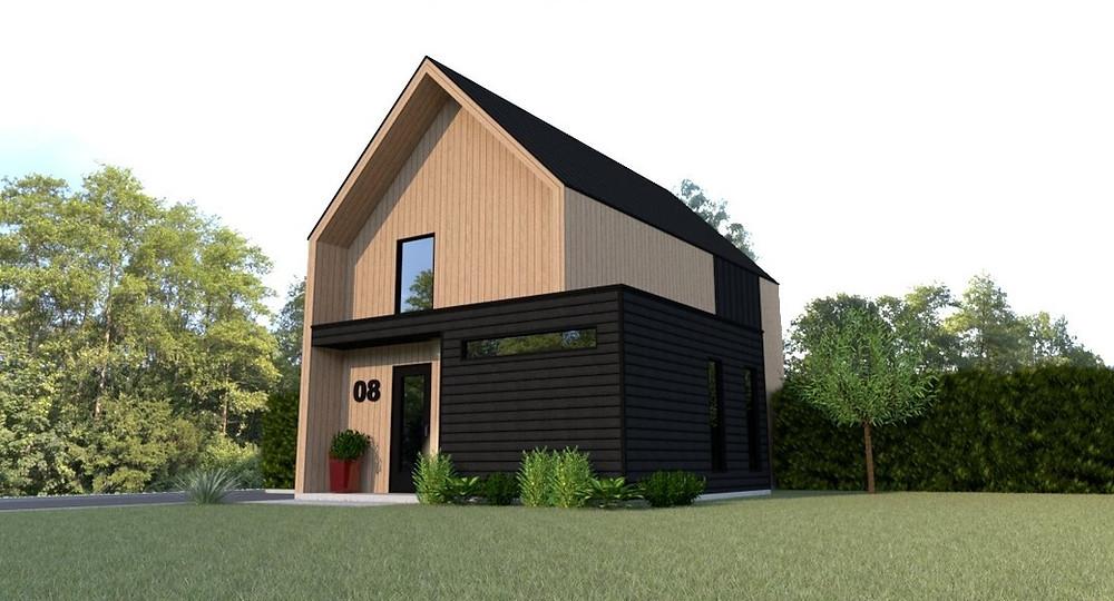 Modèle | Chalet scandinave | Chalet | Québec | Essentiel Architecture