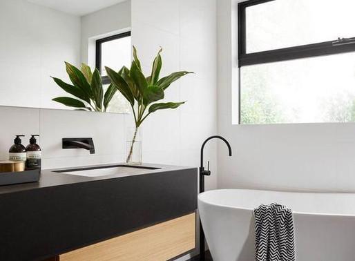 Maison contemporaine: décorer sa salle de bain