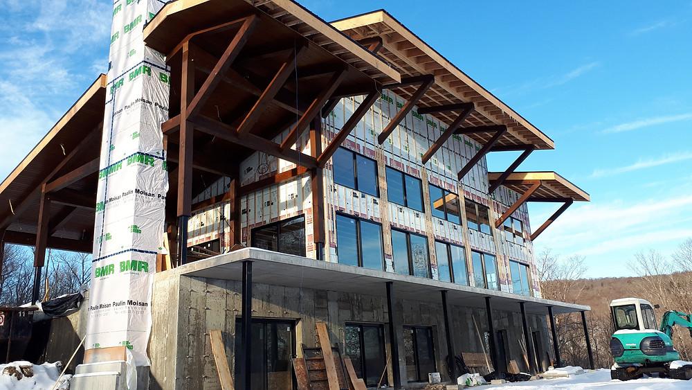 Projet résidentiel   Construction neuve   Québec   Essentiel Architecture