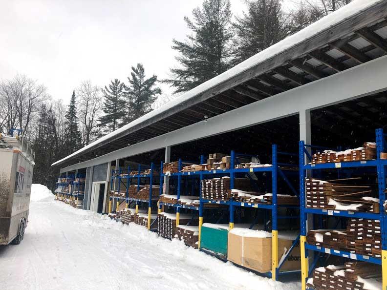 Rénovation commerciale | Après | Travaux | Structure | Construction SMO | MTIC | Québec