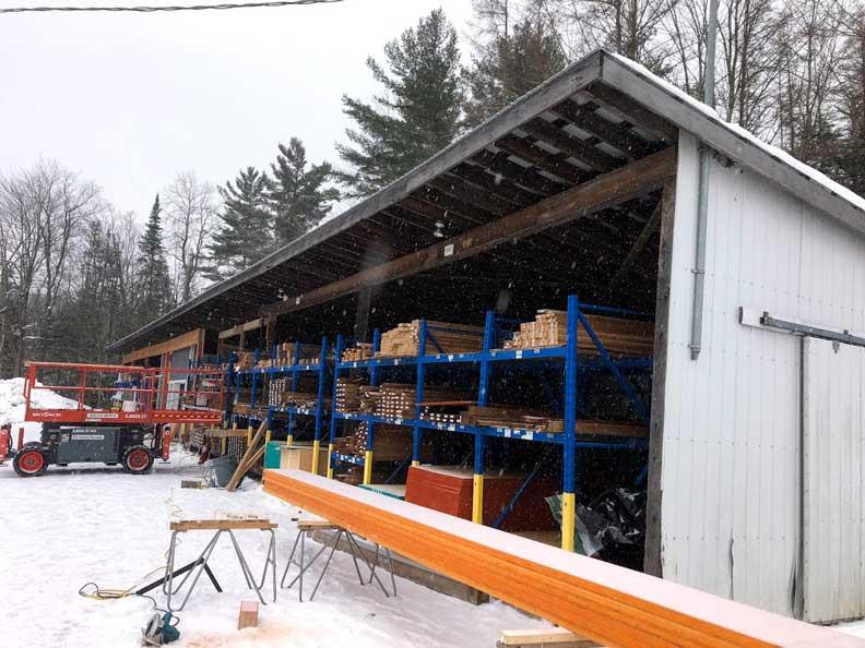 Rénovation commerciale | Avant | Travaux | Structure | Construction SMO | MTIC | Québec