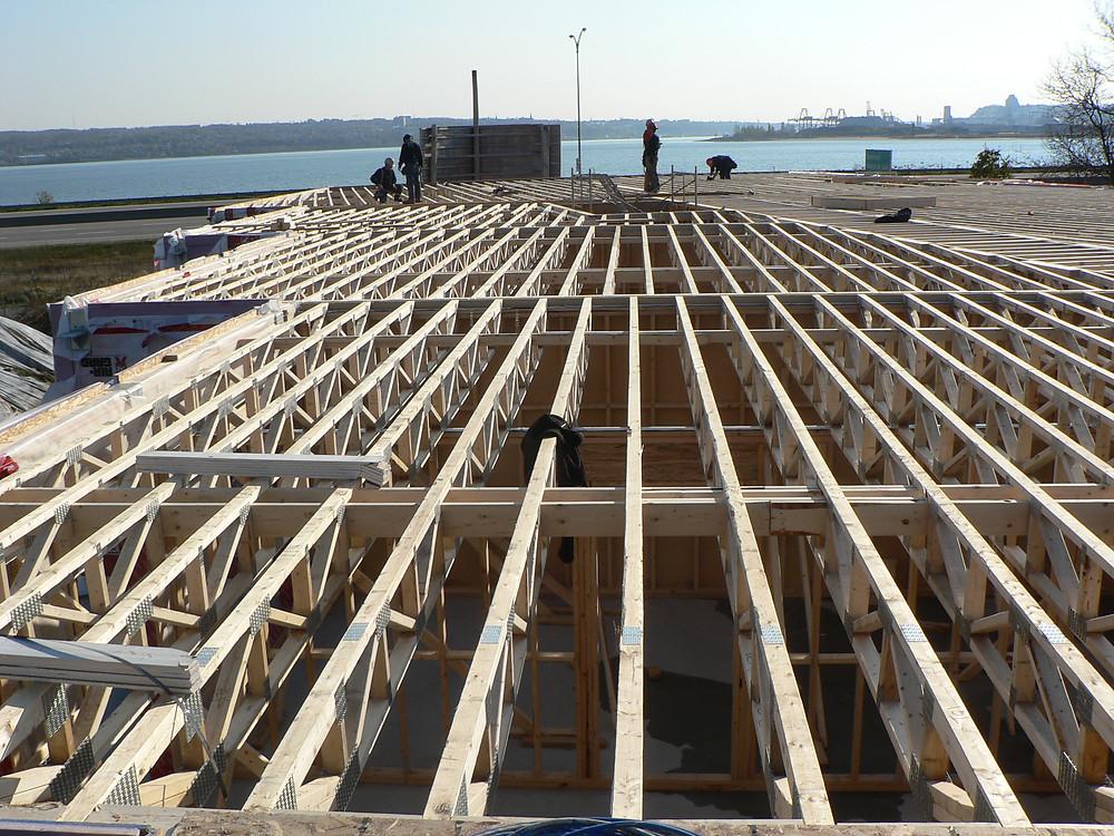 Structure de bois | Fabrication de structure de bois | Construction neuve | Freneco | Zone Construction | Québec