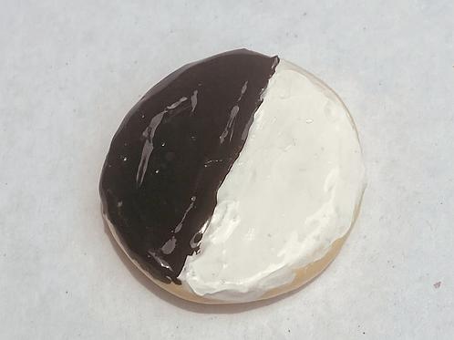 Black & White Cookie Magnet