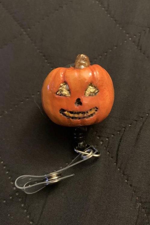 Jack o' Lantern Badge Reel