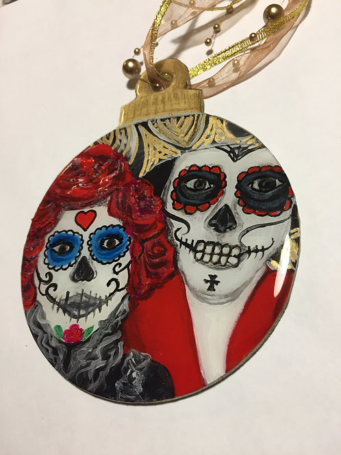Day of the Dead Couple Ornament