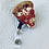 Thumbnail: Pepperoni pizza slice Badge Reel
