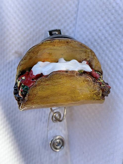 Taco Badge Reel