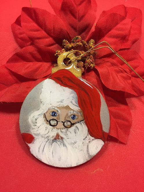 3 inch Santa ornament
