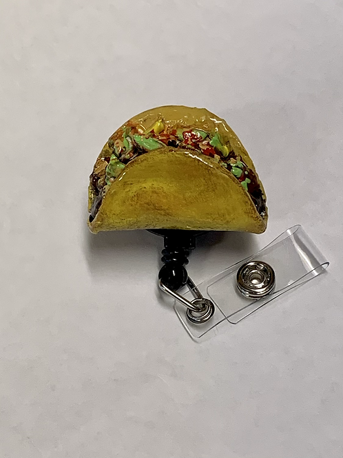 Taco Badge Reel