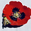 Thumbnail: Red Poppy and Bee dish