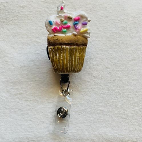 Cupcake Badge Reel