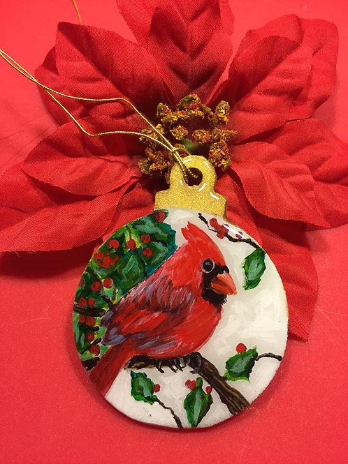 3 inch Cardinal Ornament