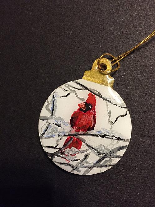 Cardinal Ornament