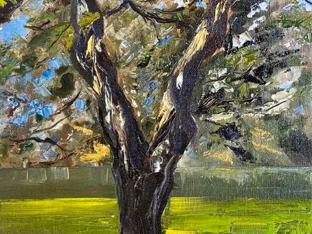 Plein Air Painting in Ingram
