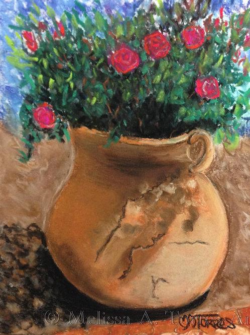 Pot Full of Roses