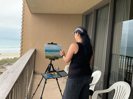 Plein Air Painting and Stage Fright? Is there such a thing?
