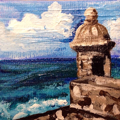 El Morro Miniature painting
