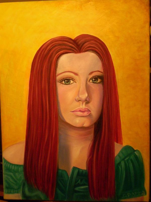 Rebecca Barra Self Portrait