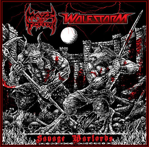 Maze of Terror/Wolfstorm - Savage Warlords