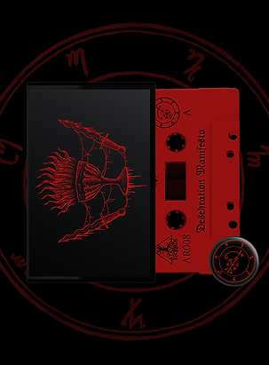 Hexekration Rites - Desekration Manifesto (tape + badge)