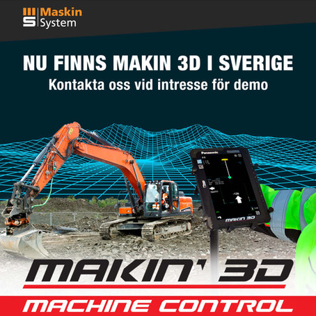 Makin' 3D enters Sweden!