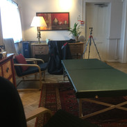 The trademake low table for Feldenkrais one-to-one.