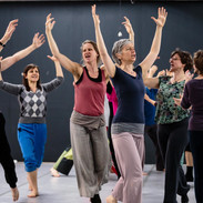 Kate Hilder leads Action Theatre workshop