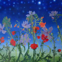 Mallow and Friends with Stars
