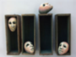 Human Faces and Structures in Clay
