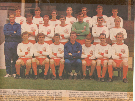 Ray Jest's Reliving Rovers: 1969/70 Part One