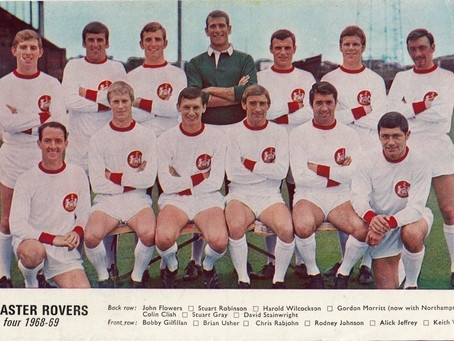 Ray Jest's Reliving Rovers: 1968/69 Part Eight