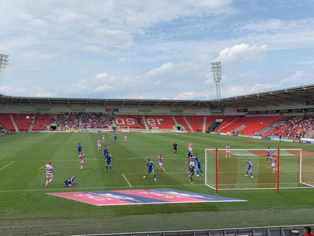 Who Else But Copps?: Gillingham 2-2 Doncaster Rovers