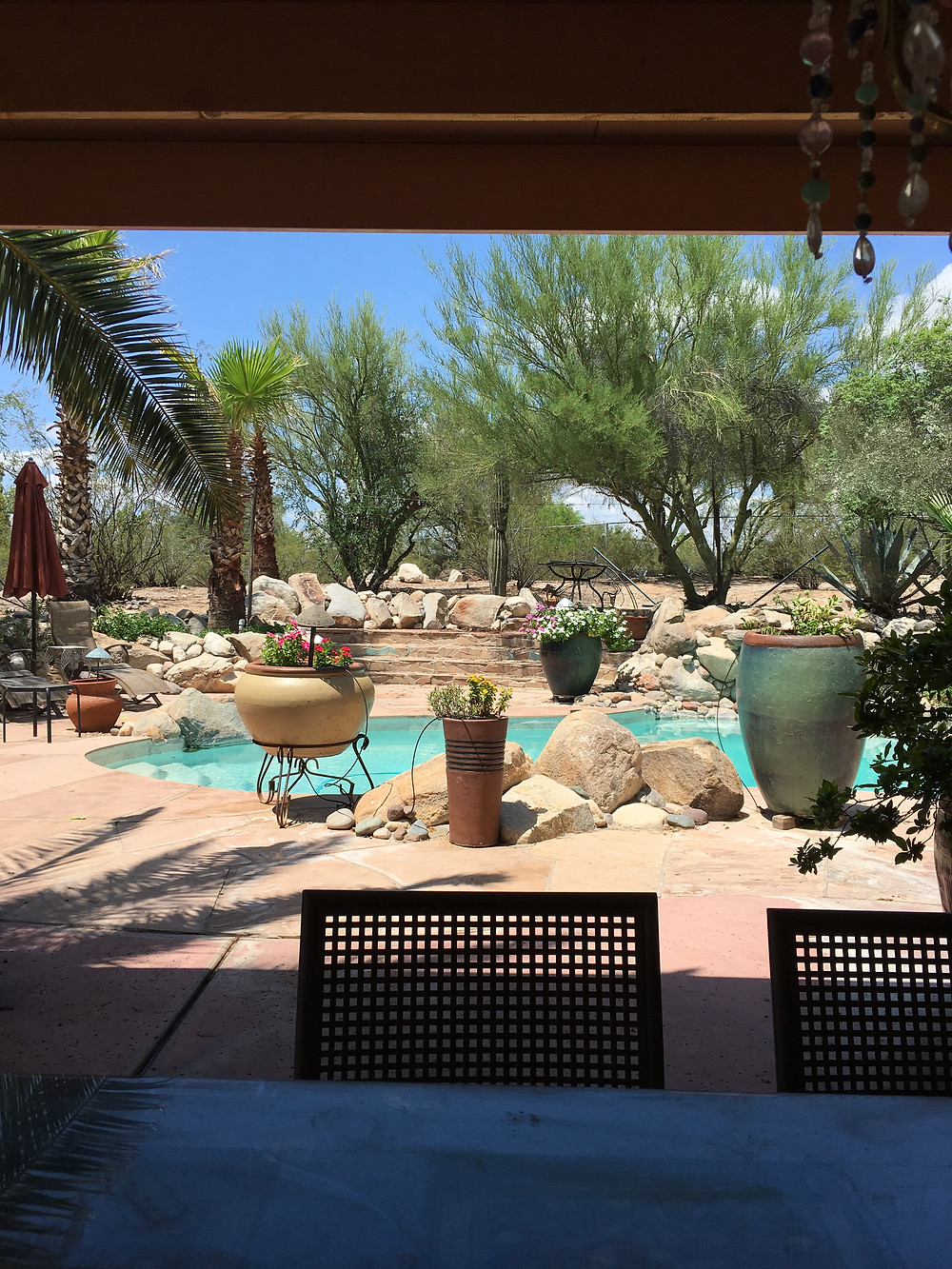 An unexpected private retreat in Tucson.