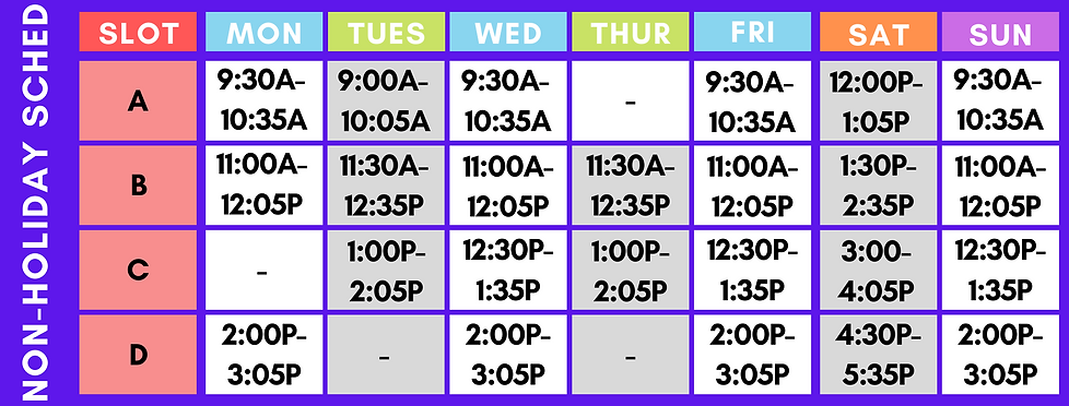 Yellow and Blue Simple Class Schedule.pn