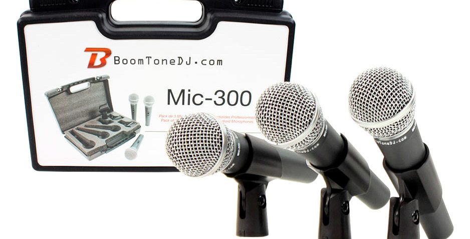 MIC 300 - BOOMTONE DJ
