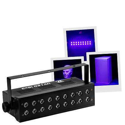UV LED 18X3 - BOOMTONE DJ