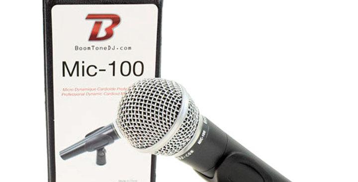 MIC 100 - BOOMTONE DJ