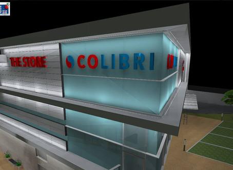 Eclairage : études techniques pour le centre commercial Colibri