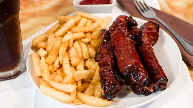 WING CITY - S2 Spare Ribs Combo Meal - 0