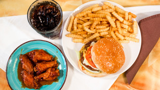 WING CITY - U3 Beef Burger and 5pc Wings