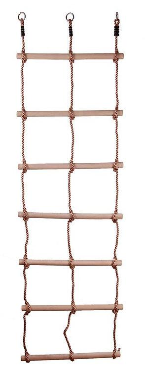 Лестница шнуровая двойная 10 ступеней