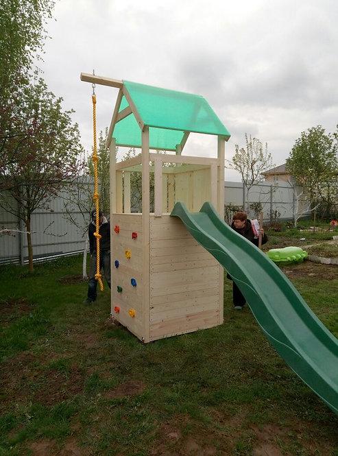 Теремок Башня 3 с игровым домиком