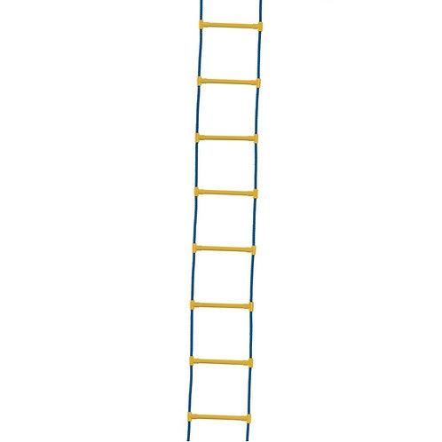 Лестница с пластиковыми ступенями Люкс
