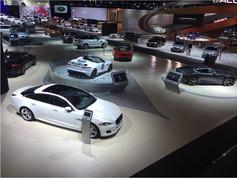 Jaguar Land Rover Auto Shows