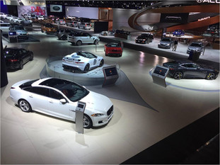 Jaguar Land Rover Auto Shows