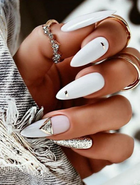 80+ Most Beloved White Nails Designs For Nails Salon Owners
