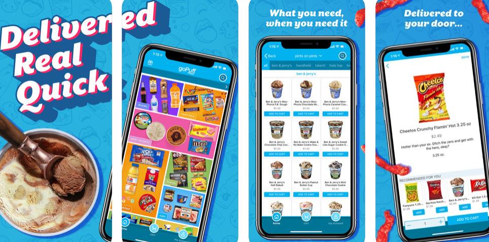 food ordering apps