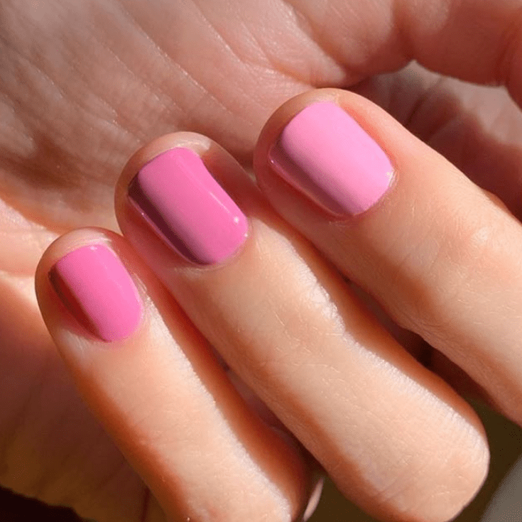nails designs in pink