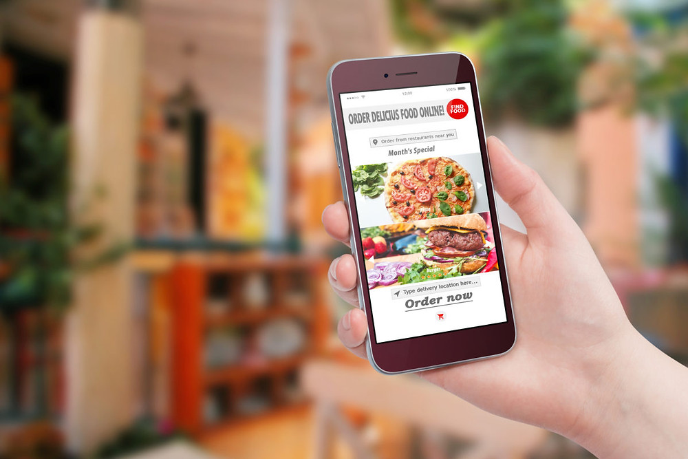 food order and delivery app